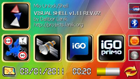 Visual - Mio Moov GPS unlock/shell - Page 27